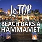 En photos : Le top des beach bars à Hammamet