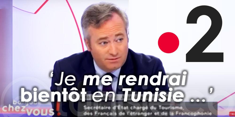 Au ''4 Vérités'' de France 2 : Jean-Baptiste Lemoyne : ''Je me rendrai bientôt en Tunisie … ''