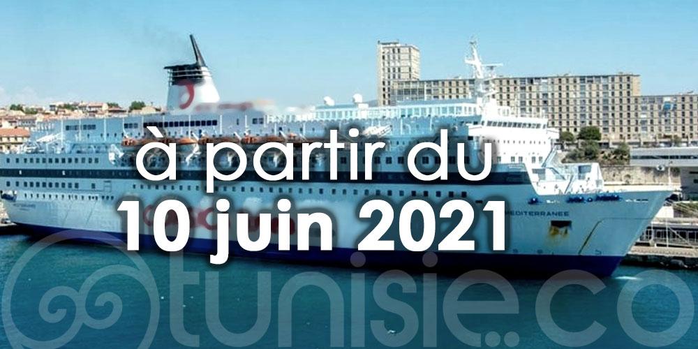La limitation du nombre passagers pour les bateaux tunisiens levée