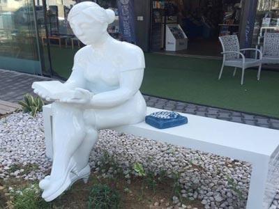 Quand l'artiste Feryel Lakhdhar embellit l'espace par cette sculpture
