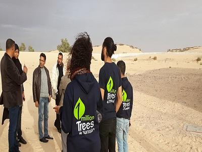 1MillionTrees4Tunisia à Rjim Maatoug, et pourquoi pas une forêt en plein désert !