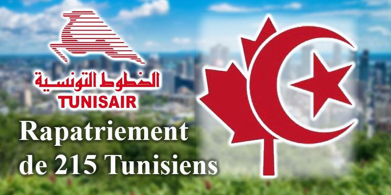 215 Tunisiens sur un vol Tunisair au départ de Montréal