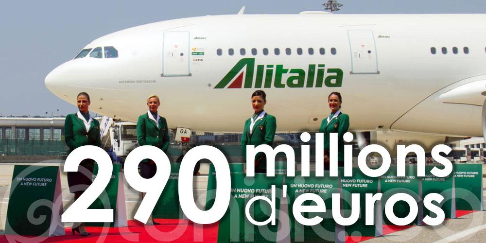 Alitalia vend son nom de marque à 290 millions d'euros
