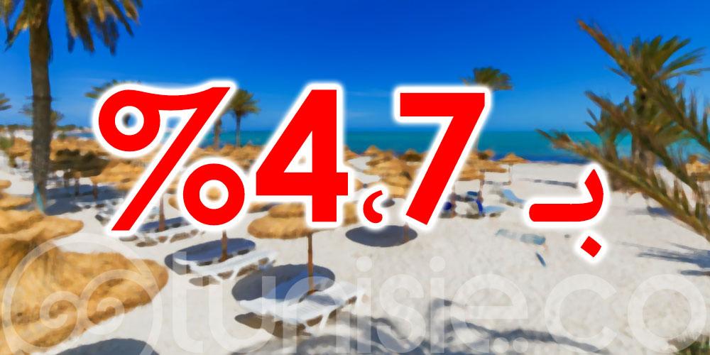 تطور العائدات السياحية بـ 4،7 بالمائة بالدينار حتّى 10 سبتمبر 2021