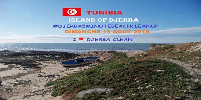 #DJERBA5MINUTEBEACHCLEANUP le 19 août: #5MINUTEBEACHCLEANUP est de plus en plus en Vogue en Tunisie