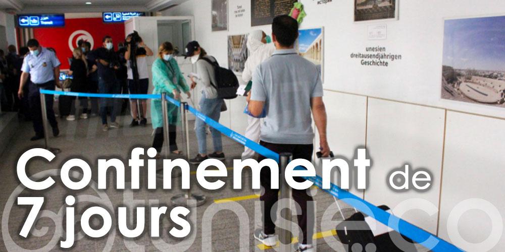 Tout ce qu'il faut savoir sur le confinement de 7 jours pour les voyageurs arrivants en Tunisie