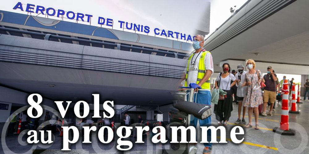 L'aéroport Tunis-Carthage accueille déjà 8 vols
