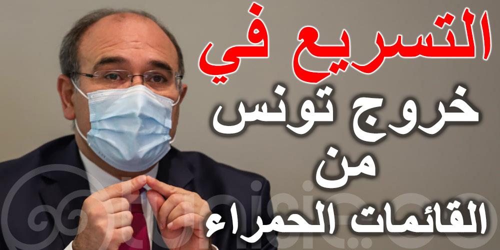 وزير السياحة يدعو للتسريع في خروج تونس من القائمات الحمراء