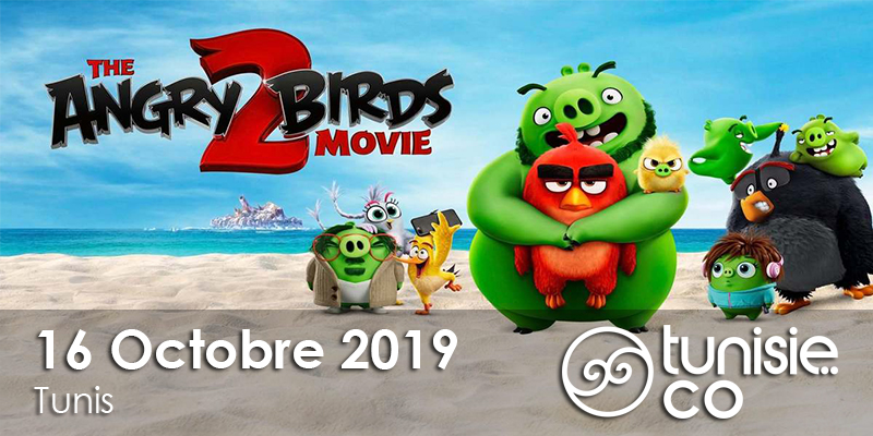 Projection du film Angry birds : Copains comme Cochons