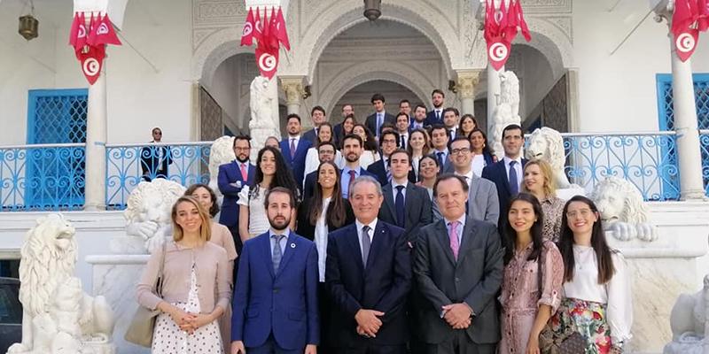 L'ambassadeur de l'Espagne en Tunisie en visite à l'ARP