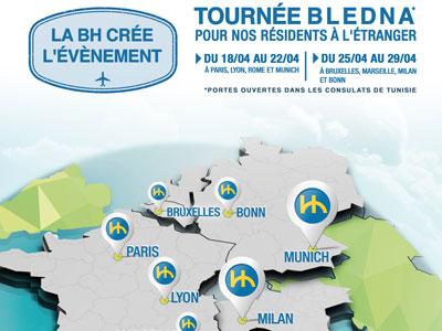 Le nouveau pack 'BH Bledna' en faveur des Tunisiens résidants à l'étranger