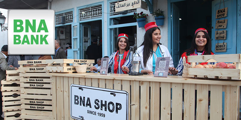 BNA SHOP : Une épicerie 100% digitale au festival des grenades de Testour