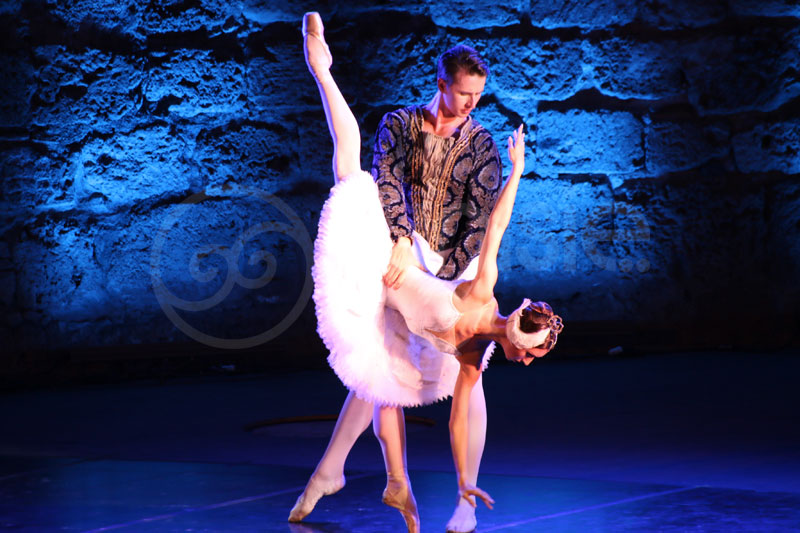 En photos : Le Lac des Cygnes du Ballet Saint-Pétersbourg ouvre le bal du festival de Carthage