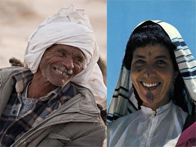 30 Fabuleux Portraits des Bédouins Tunisiens