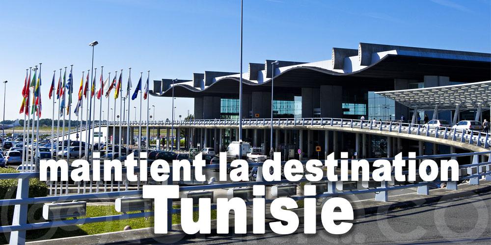 L'aéroport de Bordeaux maintient la destination Tunisie