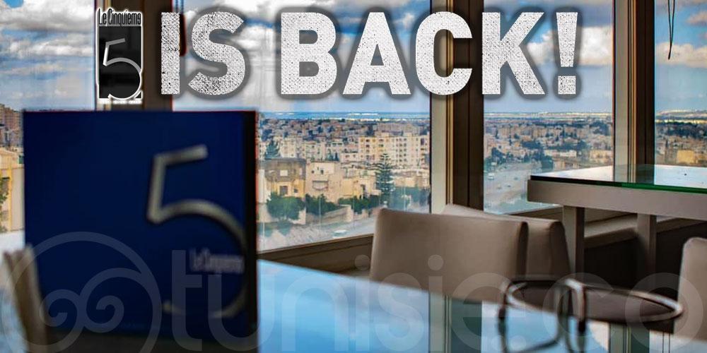 Le CINQUIÈME - Tunis Grand Hotel est de retour !