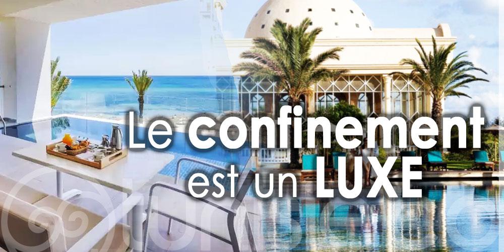 En Tunisie, les hôtels vous offrent un confinement de luxe