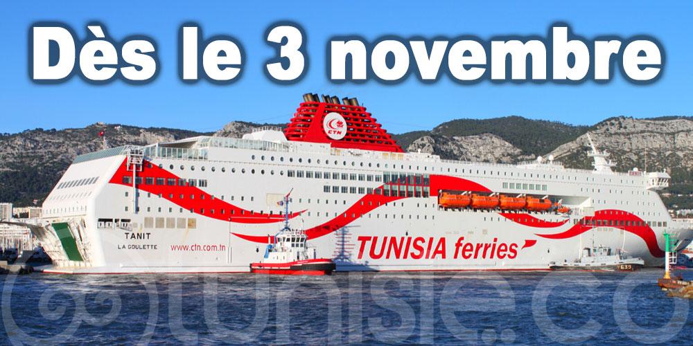 CTN: Seuls les ressortissants français et les Tunisiens résidant en France autorisés à voyager