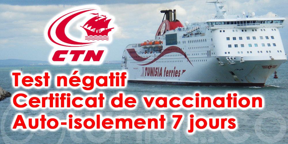 France - Tunisie : CTN dévoile ses nouvelles conditions