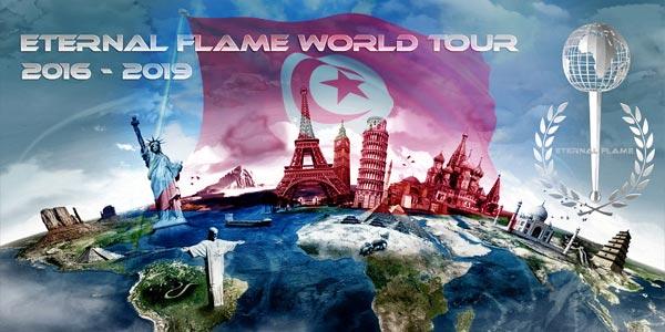 La Tunisie, premier pays en Afrique à recevoir la Flamme internationale de l'amitié
