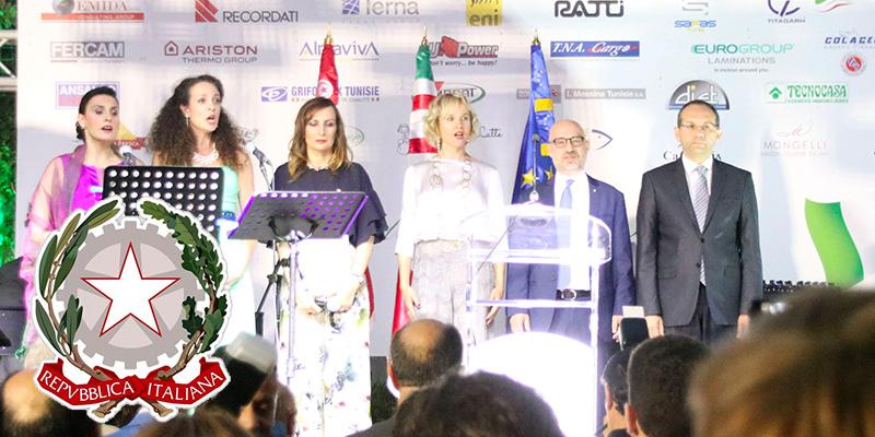 En vidéo : Fête de la République Italienne à Tunis