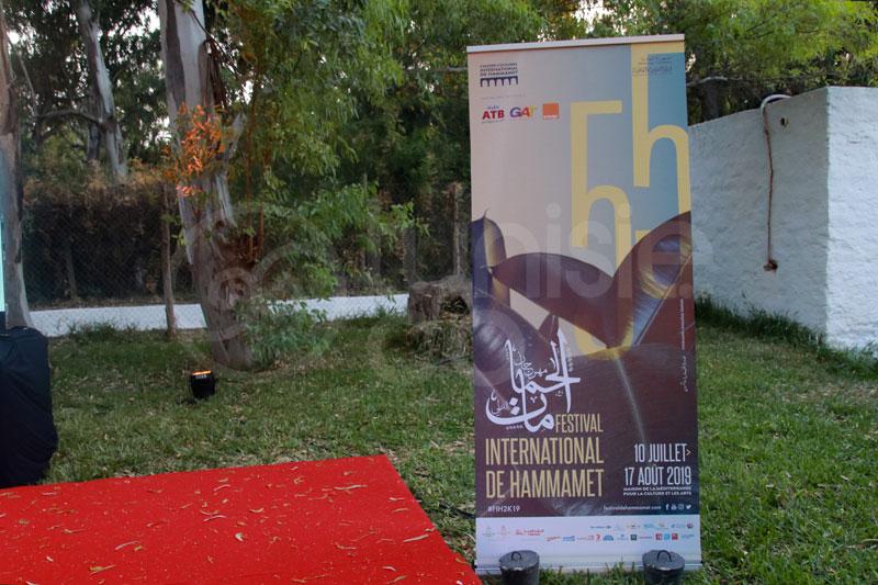 Ambiance de la Conférence du Festival de Hammamet 2019