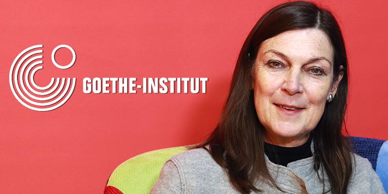 Andrea Jacob présente les œuvres de Goethe Institut à Tunis