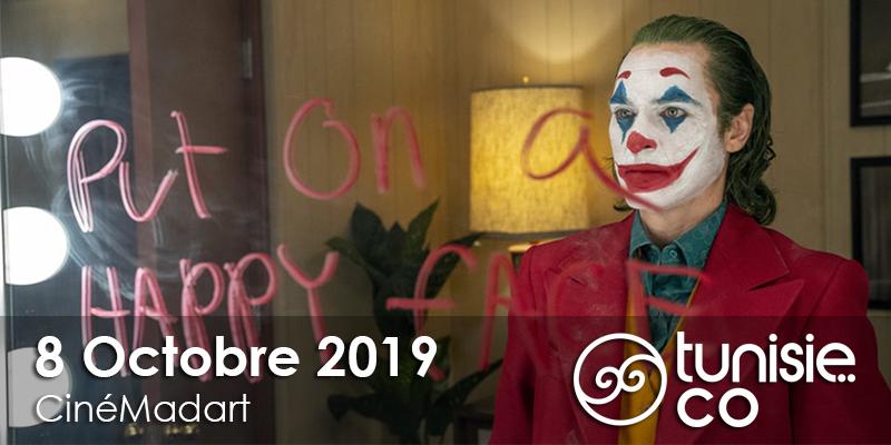 Projection du film Joker de Todd Phillips en avant-première le 8 Octobre