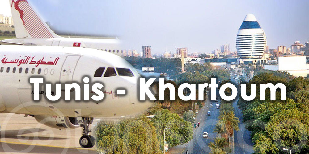 Vers la réouverture de la ligne aérienne Tunis-Khartoum