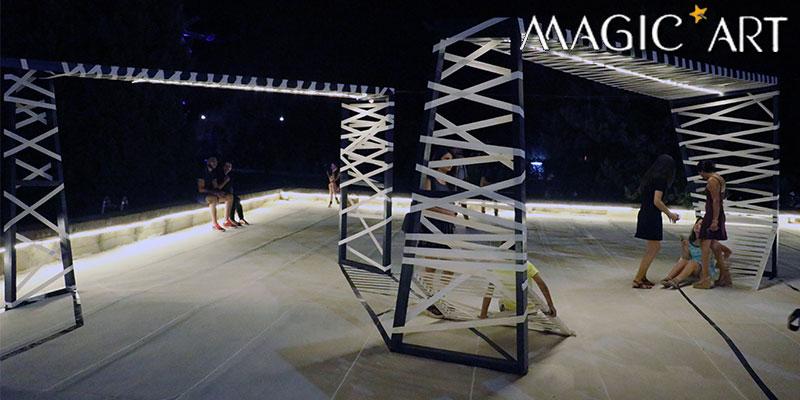 En vidéo : Les étudiants de l'ENAU créent de la Magie à l'hôtel Manar Hammamet