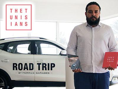 En vidéo : En Roadtrip, Wassim Ghozlani à la rencontre des 'Tunisians'