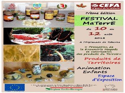 ''Ma TerrE'', un événement dédié à la valorisation des produits de Kroumirie-Mogods à Tabarka du 10 au 12 août 2018