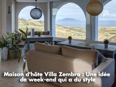 Maison d'hôte Dar Villa Zembra : Une idée de week-end stylé