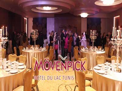 En vidéo : Première édition du Wedding Fair au Mövenpick Hotel du Lac Tunis ce  Samedi 12 janvier