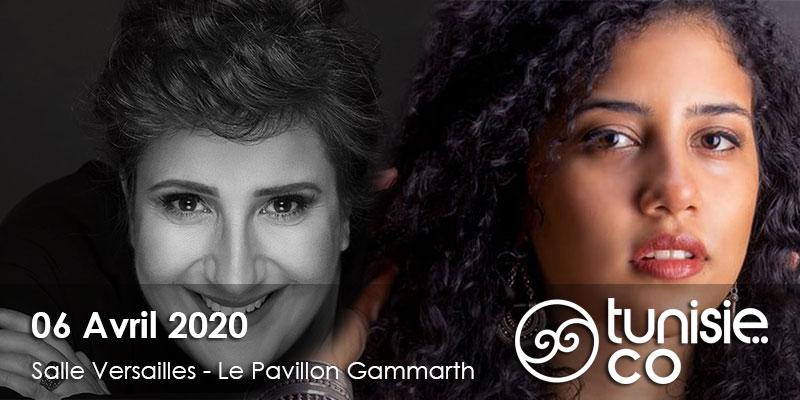 Jazz à Carthage: NOURAN ABU TALEB et MACADI NAHHAS le 06 Avril