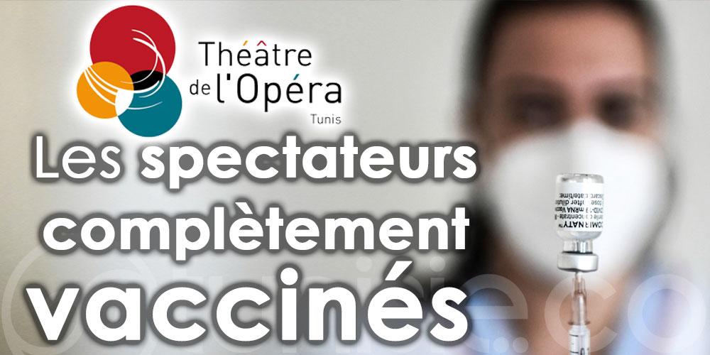 Reprise des spectacles au Théâtre de l'opéra le 1er octobre