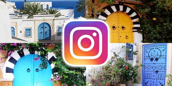 Les plus belles portes de Sidi Bou Saïd sur Instagram en 15 photos