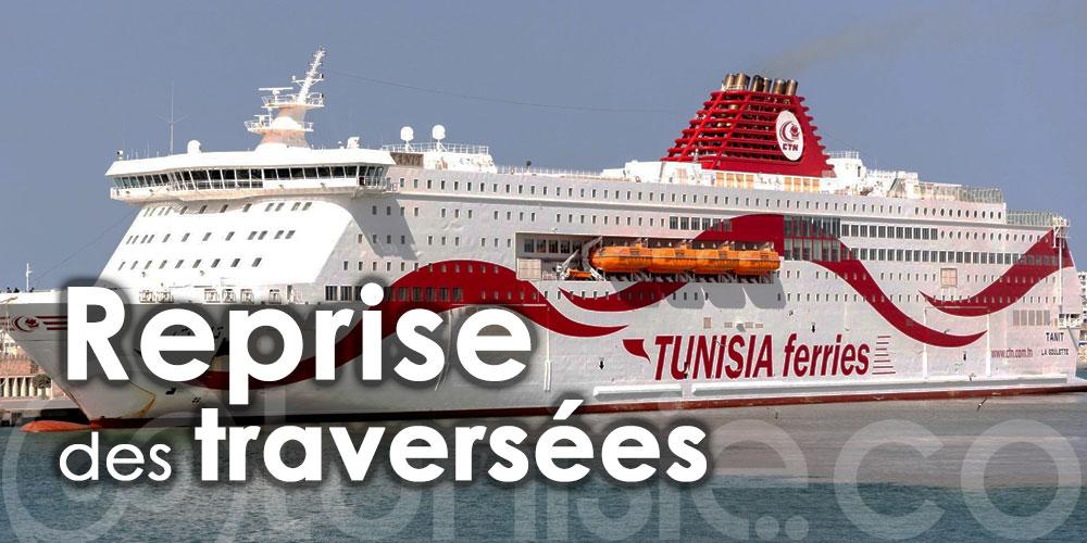 CTN: Reprise des traversées sur la ligne de Gênes