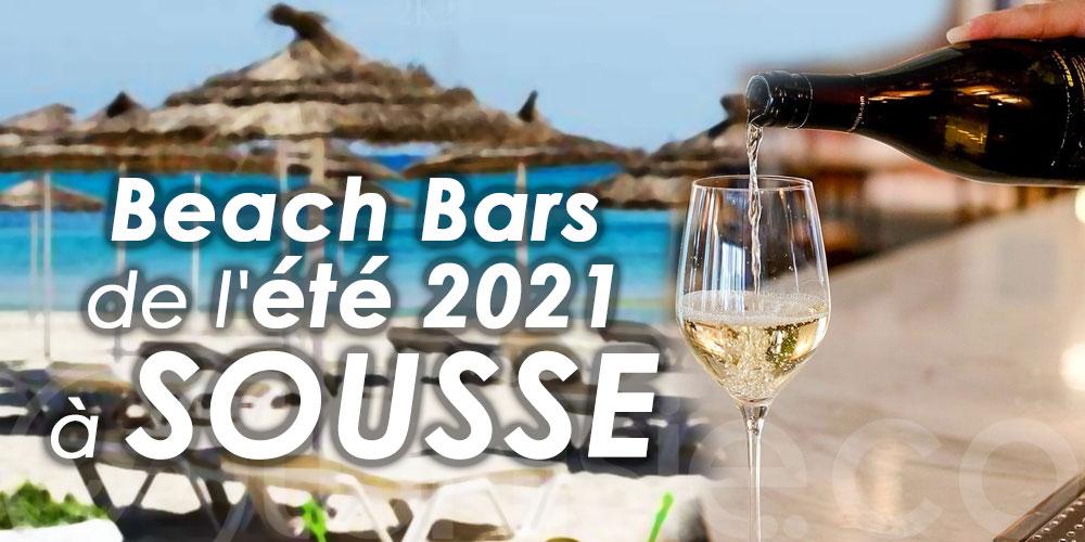 Les incontournables Beach Bars de l'été 2021 à Sousse