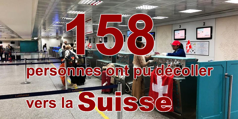 Rapatriement de 158 personnes vers la Suisse