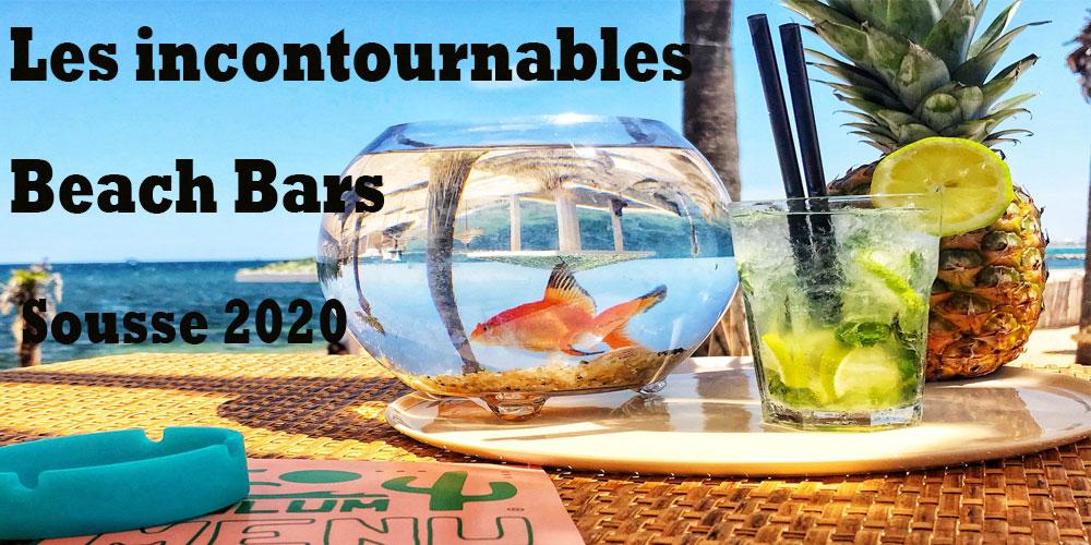 Les incontournables Beach Bars de l'été 2020 à Sousse