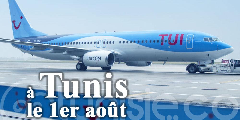 TUI revient à Tunis, le 1er août