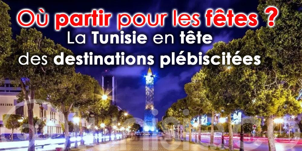 Où partir pour les fêtes ? La Tunisie en tête des destinations plébiscitées