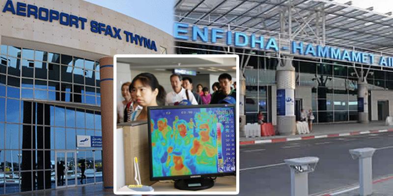 Installation de caméras thermiques à l'aéroport d'Enfidha et Sfax-Thyna
