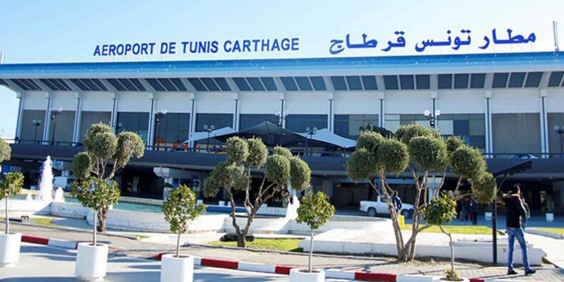 Coronavirus : Contrôle sanitaire strict à l'aéroport de Tunis-Carthage