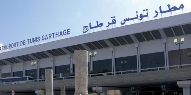 Une fiche électronique de suivi des passagers, installée à l'aéroport de Carthage