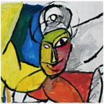 """En photos : 'Délirons de l'art', exposition d'Å""""uvres d'arts réalisées par les patients de l'hôpital Razi à Ksar Abdellia"""