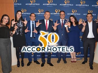 En photos : AccorHotels célèbre son 50ème anniversaire au Novotel Tunis