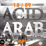 Le duo parisien Acid Arabe au Nüba Bar le 18 Septembre