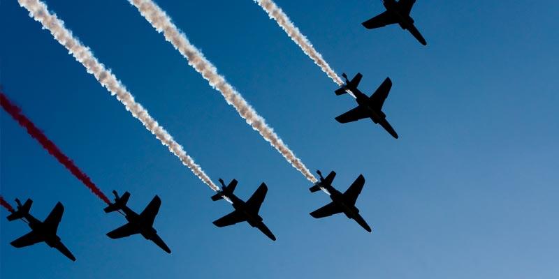 Le premier défilé aérien à Monastir prévu pour la fête de la République